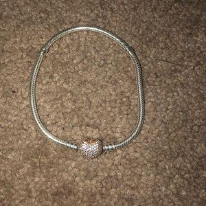 Sterling Silver Pandora Rose Bracelet